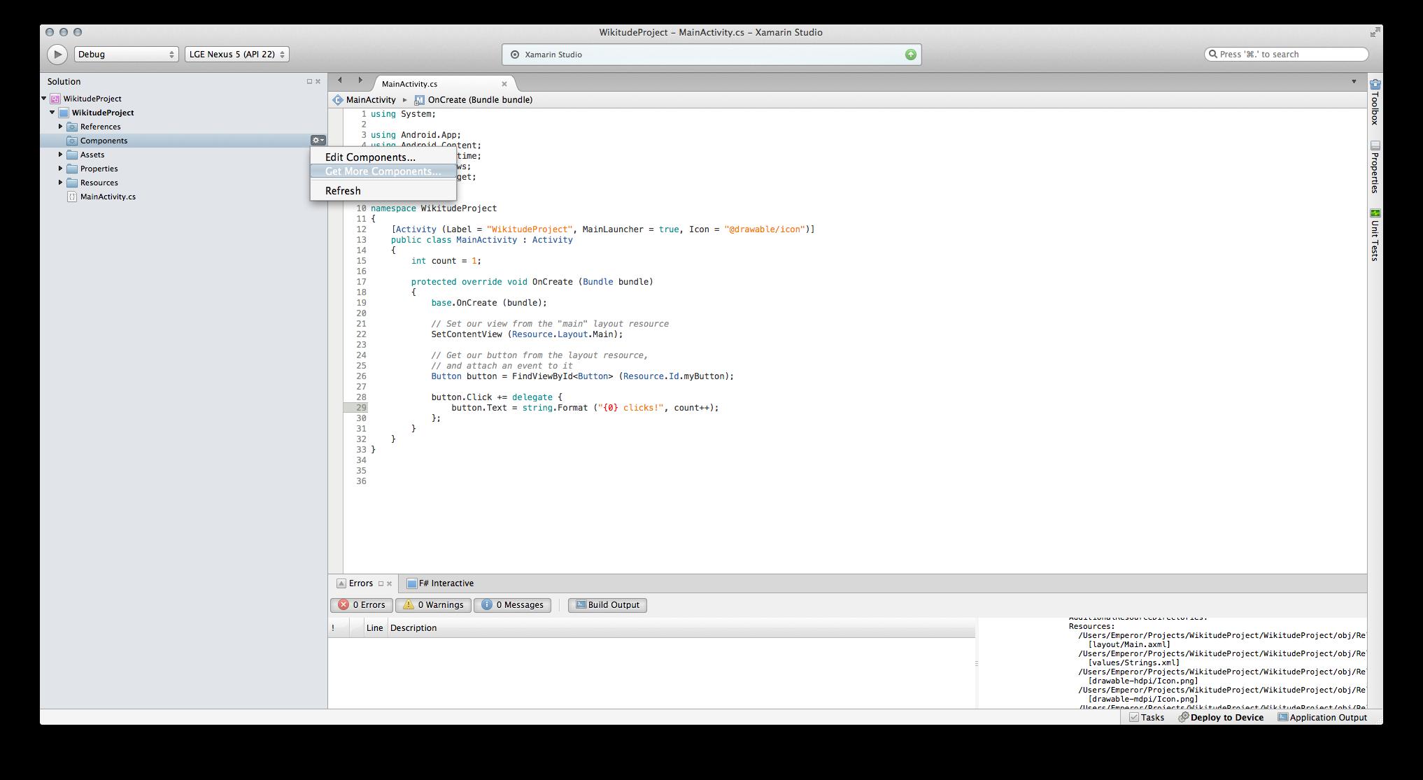 Wikitude SDK Xamarin 6 1 0 Documentation
