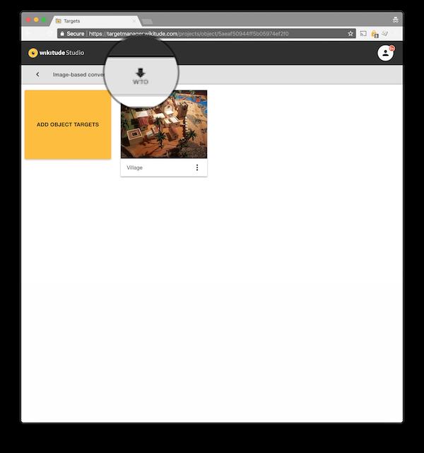 Target Management Wikitude SDK Flutter 8 6 0 Documentation
