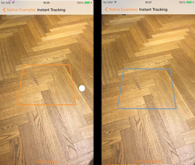 Instant Tracking Wikitude SDK iOS Native API 8 7 0 Documentation