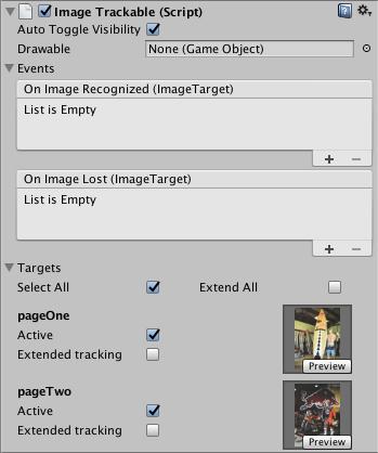 Image Recognition Wikitude SDK Unity 8 7 0 Documentation