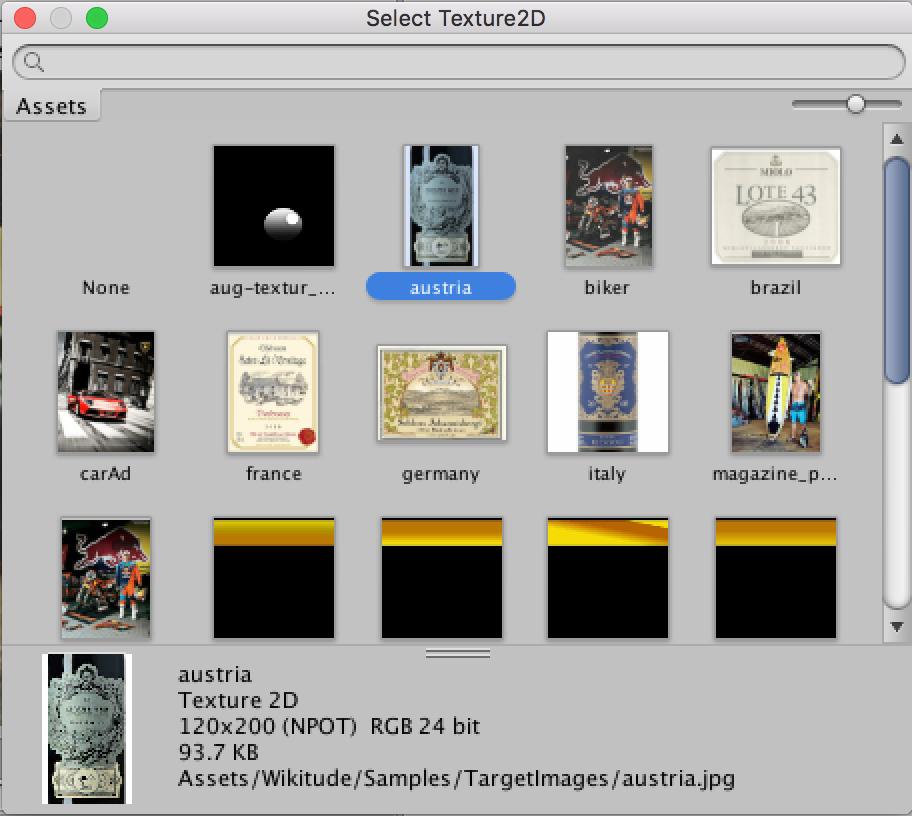 Unity WTC Editor Wikitude SDK Unity 8 6 0 Documentation