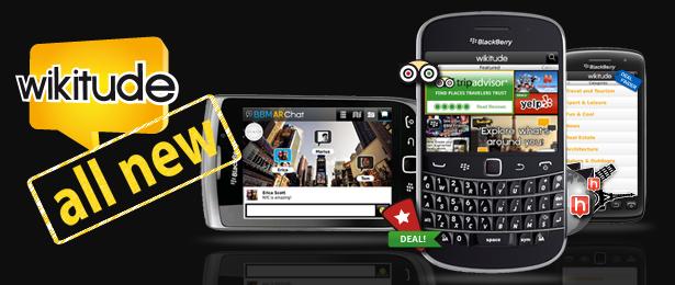 Wikitude para BlackBerry 7.2.6