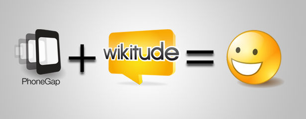 Wikitude and PhoneGap