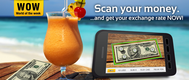 Scan your Money with Wikitude