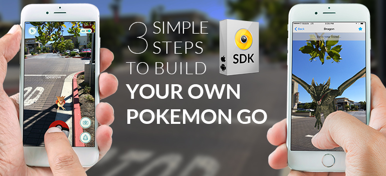 Build your own pokemon go app visual