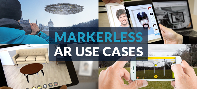 Markerless Augmented reality