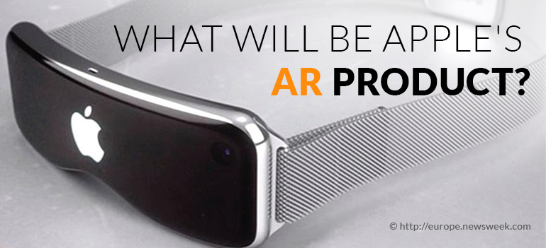 Apple Augmented reality product