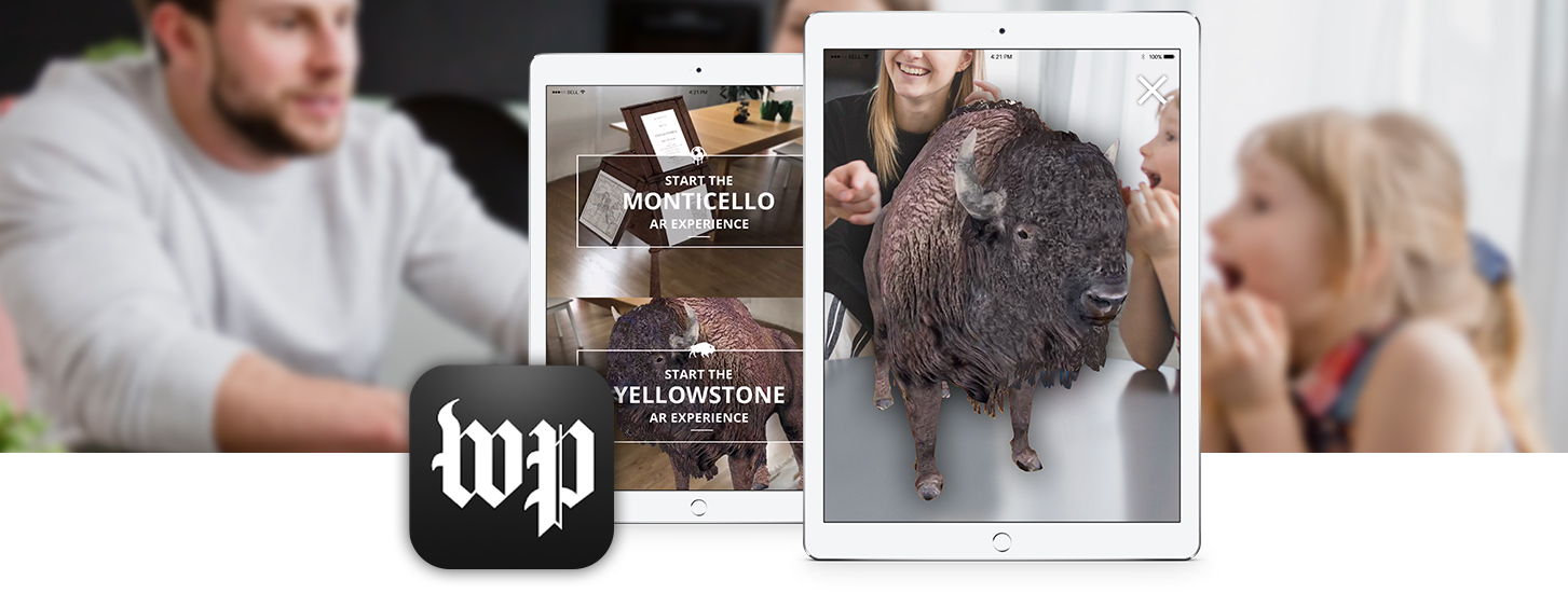 Augmenting UNESCO Heritage with The Washington Post app - powered by Wikitude