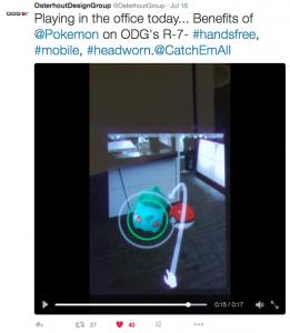 Pokémon Go with ODG SDK
